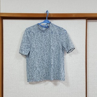 ジーユー(GU)のGU レーストップス(Tシャツ(半袖/袖なし))