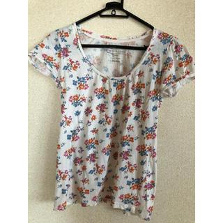 ライトオン(Right-on)の花柄 半袖Tシャツ(Tシャツ(半袖/袖なし))