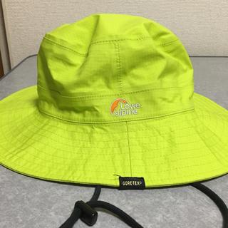 ロウアルパイン(Lowe Alpine)のGORE-TEX 帽子(登山用品)