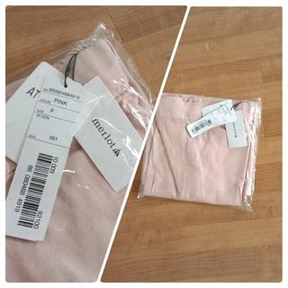 メルロー(merlot)のmerlot 花刺繍 スカート   S975(ひざ丈スカート)