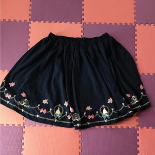 ディズニー(Disney)のシンデレラスカート(ひざ丈スカート)