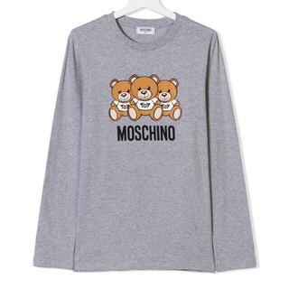 モスキーノ(MOSCHINO)の新作 モスキーノティーン 14A ベア長袖カットソーTシャツ(カットソー(長袖/七分))