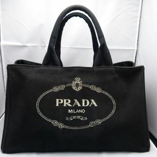 PRADA - ブティック購入 Gカード カナパ ネロ プラダ コットン