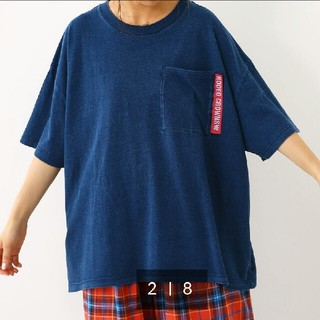 ロデオクラウンズワイドボウル(RODEO CROWNS WIDE BOWL)の新品ロデオクラウンズ ポケットTシャツ(Tシャツ(半袖/袖なし))