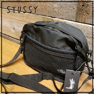 ステューシー(STUSSY)の【新品・未使用】STUSSY(ステューシー)2WAYショルダ・ブラック・男女兼用(ショルダーバッグ)