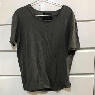 オーレット(OURET)のTシャツ  ouret 無地  グレー オーレット(Tシャツ/カットソー(半袖/袖なし))