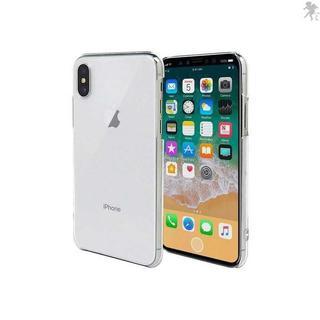 iPhone X スマホケース クリア カバー 耐衝撃 薄(iPhoneケース)