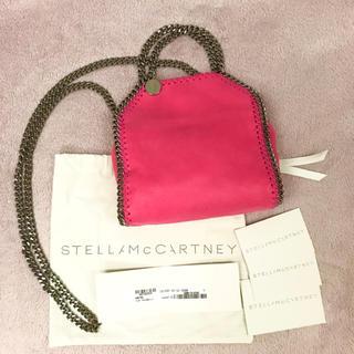 ステラマッカートニー(Stella McCartney)の新品♡ ステラマッカートニー タイニー ファラベラ ピンク(ハンドバッグ)