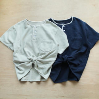 トゥデイフル(TODAYFUL)のHenry neck sweat tee♡(Tシャツ(半袖/袖なし))