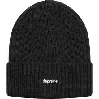 Supreme - Supreme Overdyed Ribbed Beanie 黒