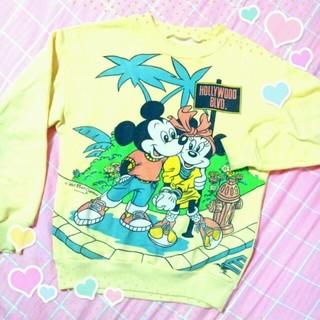ディズニー(Disney)の古着♡ミキミニトレーナー(トレーナー/スウェット)
