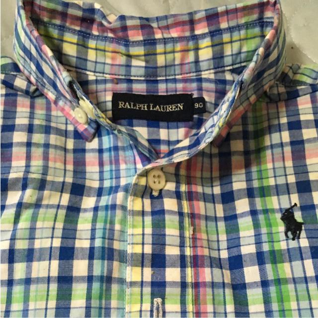 Ralph Lauren(ラルフローレン)のラルフローレン BDカバーオール 90 キッズ/ベビー/マタニティのベビー服(~85cm)(カバーオール)の商品写真