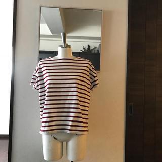 ムジルシリョウヒン(MUJI (無印良品))の無印のボーダーTシャツ(Tシャツ(半袖/袖なし))
