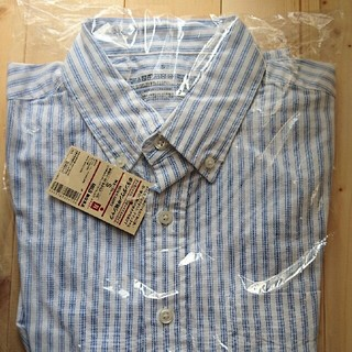 ムジルシリョウヒン(MUJI (無印良品))の無印良品Sサイズ 半袖シャツ(Tシャツ/カットソー(半袖/袖なし))