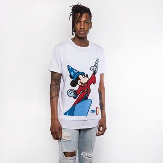 アイスバーグ(ICEBERG)のKith Mickey Fantasia Tee White Mサイズ(Tシャツ/カットソー(半袖/袖なし))