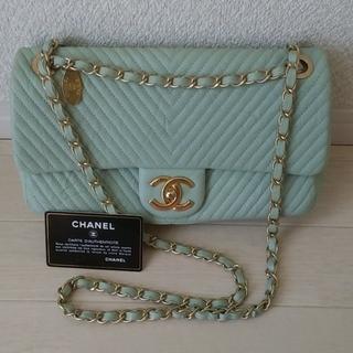 CHANEL - 正規品 美品 CHANEL シェブロン チェーンショルダー