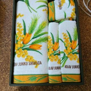 ジュンコシマダ(JUNKO SHIMADA)のJUNKO SHIMADA バスタオルセット(タオル/バス用品)
