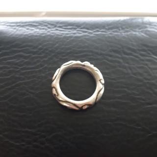 クロムハーツ(Chrome Hearts)のクロムハーツ スクロールリング 指輪 ネックレス(リング(指輪))