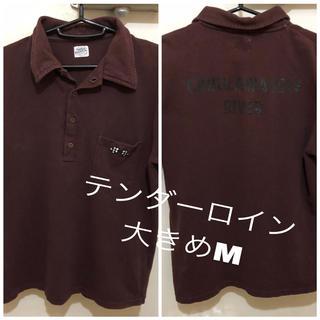 テンダーロイン(TENDERLOIN)の日本製TENDERLOIN テンダーロイン  古着半袖ポロシャツ大きめMこげ茶 (ポロシャツ)