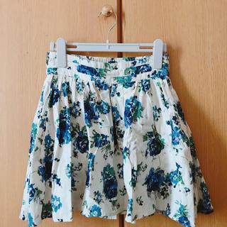ローリーズファーム(LOWRYS FARM)の花柄スカート LOWRYSFARM(ミニスカート)