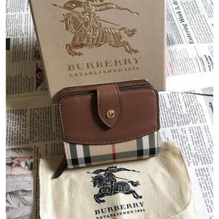 BURBERRY - 美品 バーバリー 折財布 ウォレット 財布