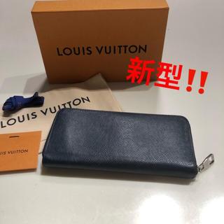 LOUIS VUITTON - 新型 極美品 ルイヴィトン 正規品 ジッピーウォレット ヴェルティカル オセアン