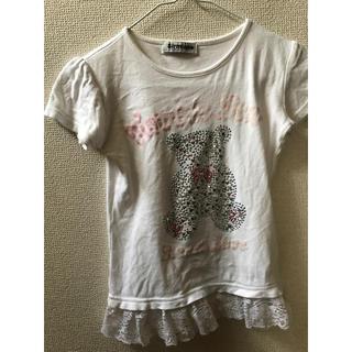 しまむら - 女の子 130 Tシャツ くま
