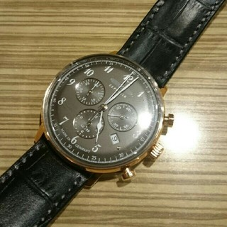 ツェッペリン(ZEPPELIN)の未使用 保証あり ツェッペリン クロノグラフ 腕時計 (腕時計(アナログ))