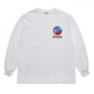 COMME des GARCONS - gosha rubchinskiy DJ Tシャツ 長袖 Sサイズ 白