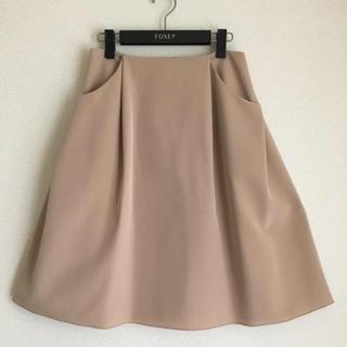 FOXEY - ♡極美品♡ FOXEY イリプスフレアー スカート 40 フォクシー ロング