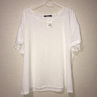 しまむら - 大きいサイズ 白Tシャツ