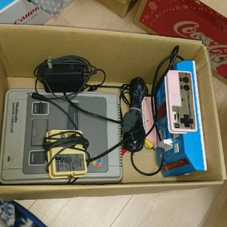 スーパーファミコン - スーパーファミコンとファミコンのセット