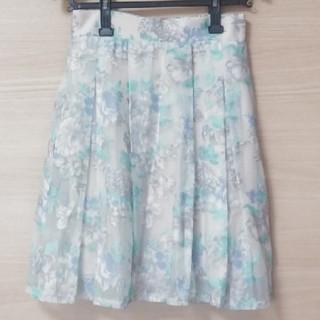 しまむら - 花柄 オーガンジースカート