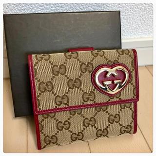 Gucci - 《超美品》GUCCI(グッチ)折り財布