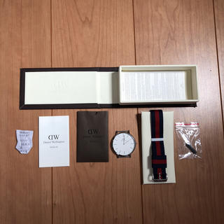 ダニエルウェリントン(Daniel Wellington)のDANIEL WELLINGTON CLASSIC 40MM OXFORD(腕時計(アナログ))