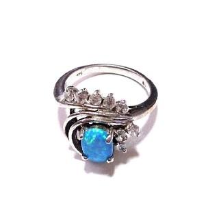 オパール  指輪   天然石(リング(指輪))