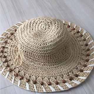 イタリア アマルフィ購入 ストローハット 帽子(麦わら帽子/ストローハット)