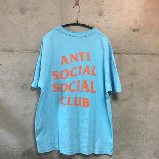 アンチ(ANTI)のANTI SOCIAL SOCIAL CLUB tシャツ オレンジ ブルー(Tシャツ/カットソー(半袖/袖なし))