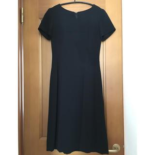 礼服5号フォーマルブラックワンピース(礼服/喪服)