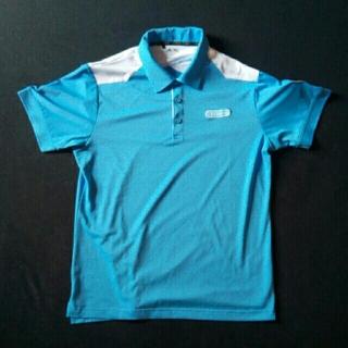 アディダス(adidas)のadidas ゴルフウェア ポロシャツ メンズ L 半袖 (ポロシャツ)