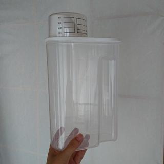 ムジルシリョウヒン(MUJI (無印良品))のMUJI 冷蔵庫用米保存容器 約2kg *米びつ(容器)
