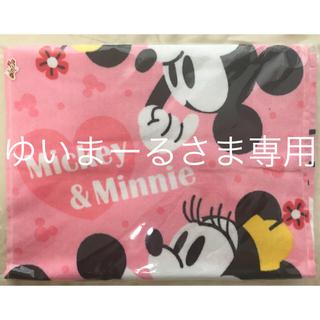 ディズニー(Disney)のDisneyミッキー&ミニーロングフェイスタオル(新品、未使用)(タオル)