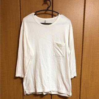 ユニクロ(UNIQLO)のカットソー(Tシャツ/カットソー(七分/長袖))