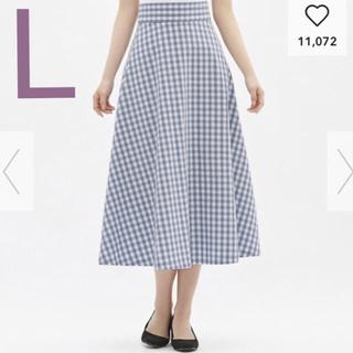 GU - ジーユー フレアロングスカート