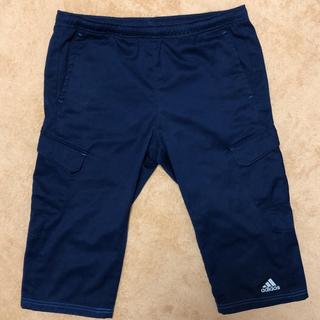 アディダス(adidas)のアディダス 160 ハーフパンツ(紺)(パンツ/スパッツ)