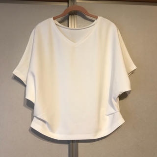 GU - GU 2wayドルマンTシャツ ホワイトS