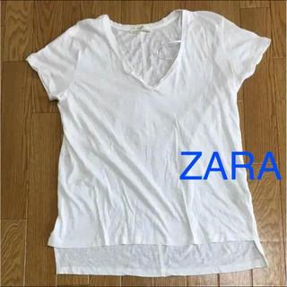 ザラ(ZARA)のZARA シンプルVTシャツ(Tシャツ(半袖/袖なし))