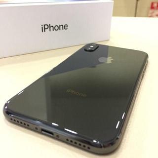 アイフォーン(iPhone)のcdd55450専用【中古】au iPhoneX 256GB 一括払い★1/2(スマートフォン本体)