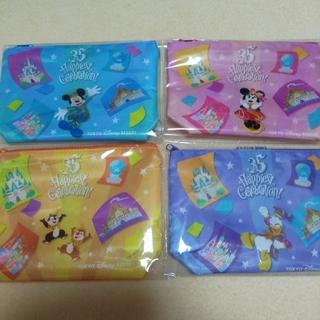 Disney - ディズニー35周年   デザインポーチ  非売品