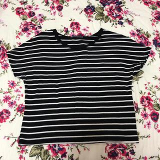 ザラ(ZARA)の美品 ZARA Tシャツ(Tシャツ/カットソー(半袖/袖なし))